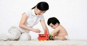 dạy trẻ tự lập từ nhỏ