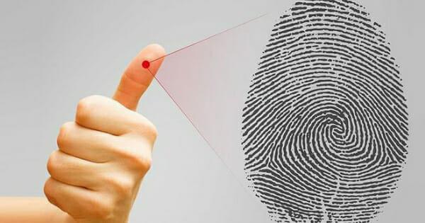 Làm sinh trắc sẽ lấy dấu vân tay ngón nào_